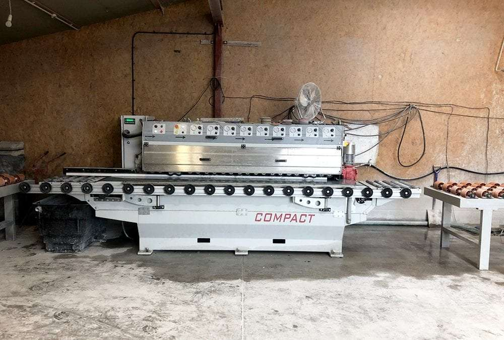 Investing In Our Equipment: Tecnombm Compact Polishing Machine